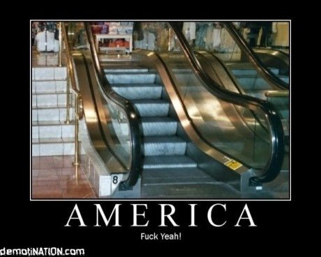 american escalator